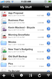 Folder plus file manager amp document viewer for iphone ipad ipod